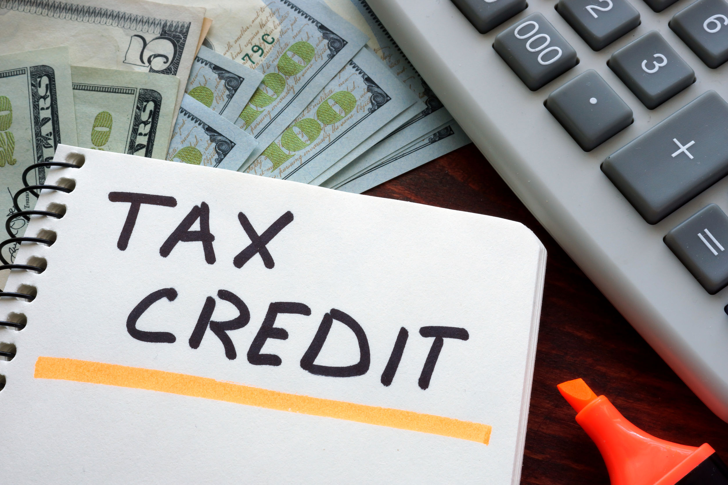 What is a tax-credit program?